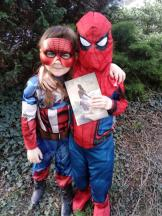 Spiderwoman & Spiderman
